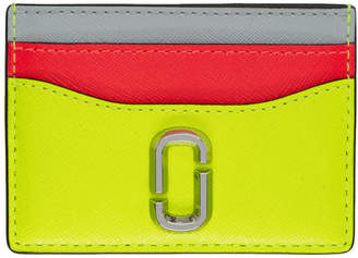 Marc Jacobs Yellow Snapshot Card Holder