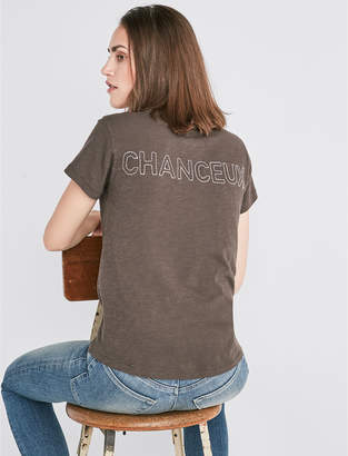 Lucky Brand CHANCEAUX CREW TEE