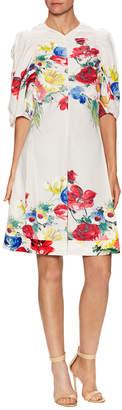 Celine Floral Print A Line Dress
