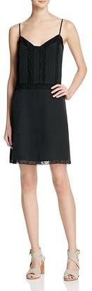 Joie Fiorato Silk Slip Dress $398 thestylecure.com