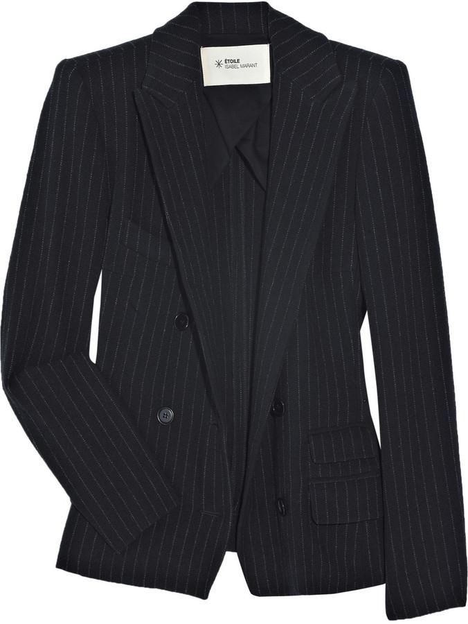 Etoile Isabel Marant Pinstripe wool-blend blazer