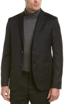 Fendi Wool Suit With Flat Front Pant