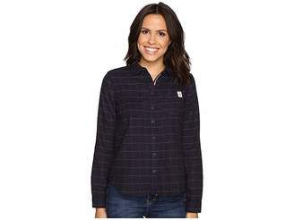 U.S. Polo Assn. Long Sleeve Herringbone Shirt Women's Clothing