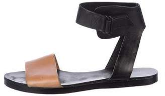 3.1 Phillip Lim Leather Ankle Strap Sandals