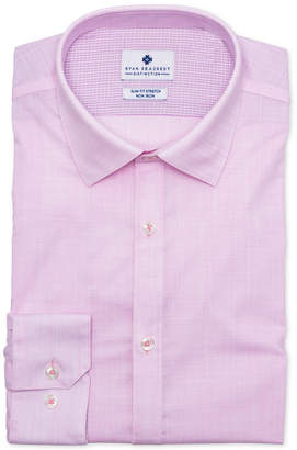 Ryan Seacrest Distinction Men's Ultimate Slim-Fit Non-Iron Performance Stretch Rose Dress Shirt, Created for Macy's