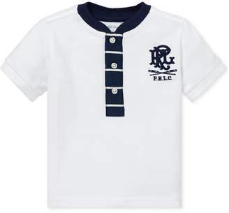 5f2da4413d699 Polo Ralph Lauren Baby Boys Cotton Mesh Henley Shirt