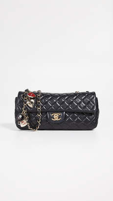"Chanel What Goes Around Comes Around Valentine 10"" Flap Bag"