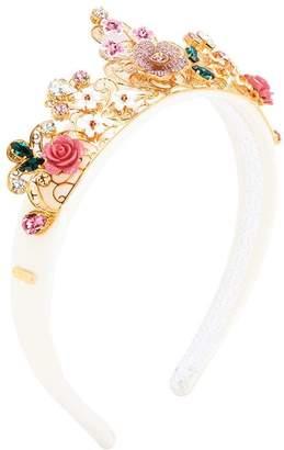 Dolce & Gabbana Flower Crown Headband