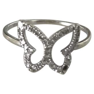 Non Signé / Unsigned White Gold Ring