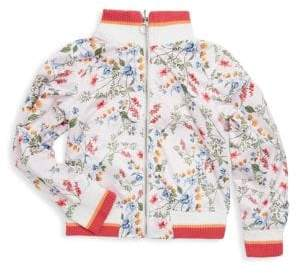 Urban Republic Girl's Printed Zip Jacket