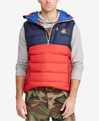 Polo Ralph Lauren Downhill Skier Men's Hooded Down Vest