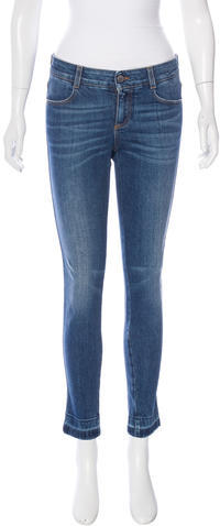Stella McCartney Stella McCartney Mid-Rise Skinny Jeans