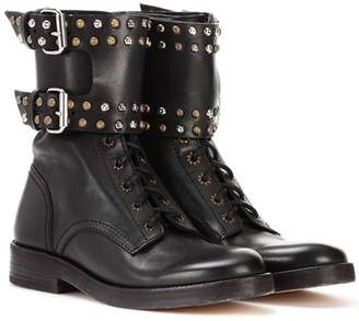 Isabel Marant Teylon embellished leather ankle boots