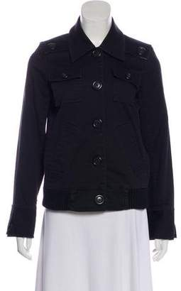 Marc by Marc Jacobs Pointed Collar Casual Jacket