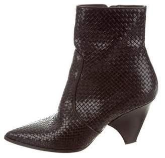 Stephane Kelian Woven Ankle Boots
