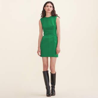 Maje Crêpe sleeveless dress