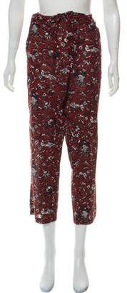 Etoile Isabel Marant Casual Printed Pants
