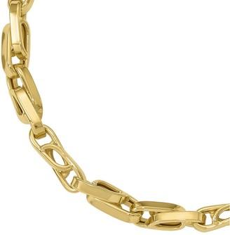 Italian Gold Figure 8 Link Bracelet 14K, 7.1g