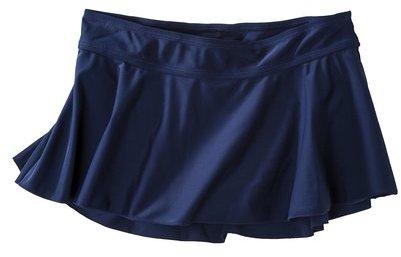 Merona Women's Swim Skirt -Navy