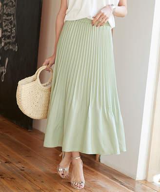 titivate (ティティベイト) - 裾消しプリーツスカート