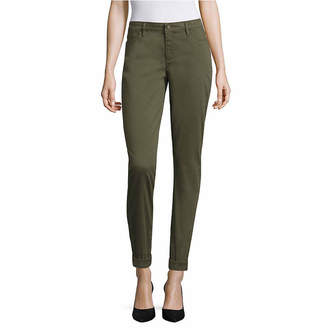 Liz Claiborne Skinny Bf Ankle City Fit Ankle Pants - Talls