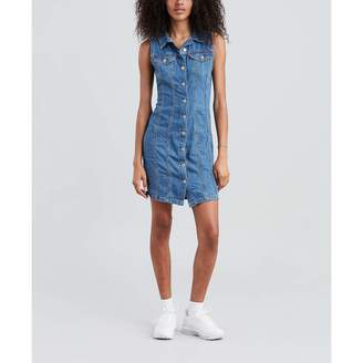 Levi's Women's Sleeveless Short Aubrey Dress