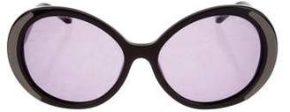 House Of Harlow Oversize Round Sunglasses