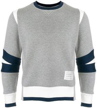 Thom Browne Articulated Chunky Jersey Sweatshirt