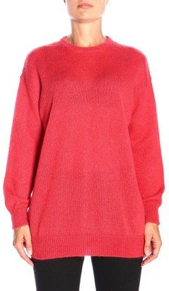 Max Mara Sweater Relax Pullover In Mohair Wool