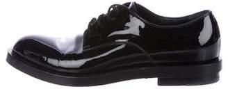 Gucci Patent Leather Derby Shoes