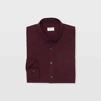 Club Monaco Flannel Herringbone Shirt