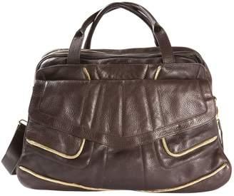 Karine Arabian Brown Leather Handbag