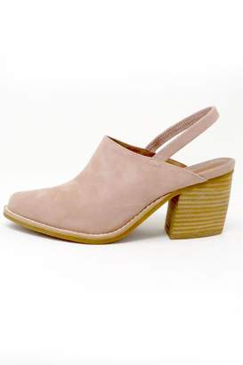 Jeffrey Campbell Blush Suede Slingback
