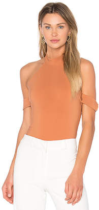 Lovers + Friends x REVOLVE Ring Leader Bodysuit in Brown $118 thestylecure.com