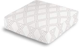 Loom Decor Box Floor Pillow Diamonds Are Forever - Ash