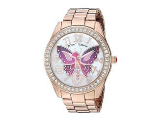 Betsey Johnson 37BJ00249-65BX Pink Tone Butterfly