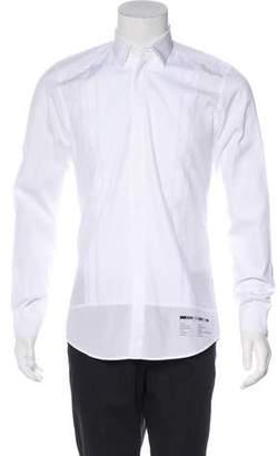 Dolce & Gabbana Woven Tuxedo Shirt