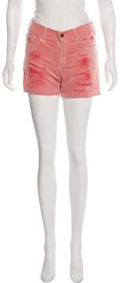 Roseanna Corduroy Mid-Rise Mini Shorts