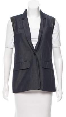 Yigal Azrouel Wool & Linen Vest