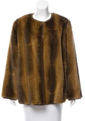 Giorgio Armani Vintage Faux Fur Jacket