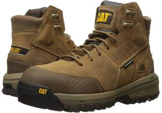 Caterpillar Device Waterproof Composite Safety Toe Men's Work Lace-up Boots