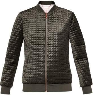 Ted Baker Prindil Quilted Detail Velvet Jacket