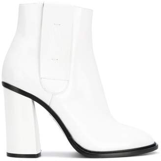 Casadei elasticated side panel boots