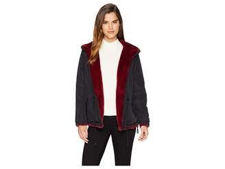 Sanctuary Fur Snug Mini Parka Jacket