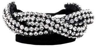 Isabel Marant Crystal Twist Wrap Bracelet