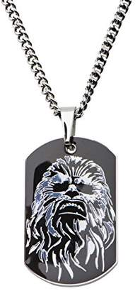 Star Wars Jewelry Episode 7 Chewbacca Stainless Steel Dog Tag Pendant Necklace