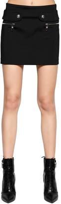 Versus Neoprene Mini Skirt