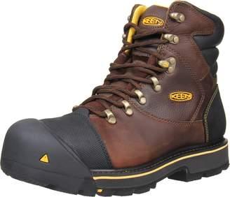 """Keen Men's Milwaukee 6"""" Steel Toe Work Boot 10D"""