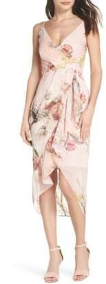 Cooper St Flora Fade Drape Dress