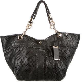 Jimmy ChooJimmy Choo Perforated Leather Bag